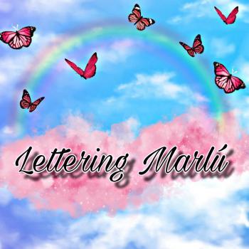 Lettering Marlú